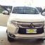 พรมดักฝุ่นปูพื้นรถยนต์ Mitsubishi Pajerosport 2016 ไวนิลสีเทาขอบเทา thumbnail 2