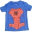 WD1B The Wonderful World Of Disney เสื้อยืดเด็ก แขนสั้น สีฟ้า Spiderman Cotton 100% Size 18M-4Y thumbnail 1