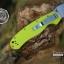 มีดพับ ONTARIO Model-1 ด้าม Fluorescent Green คมกริบ ขนาด 8 นิ้ว (OEM) thumbnail 14