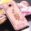 เคส Samsung C7 Pro ซิลิโคน TPU โปร่งใสขอบเงาลายดอกไม้แสนหวาน พร้อมแหวานสุดสวย ราคาถูก (ไม่รวมสายคล้อง) thumbnail 16