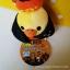 ตุ๊กตาไก่ คิอิโระอิโทริหัวฟักทองฮาโลวีน Kiiroitori pumpkin halloween (size s) thumbnail 2