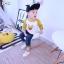 เสื้อโปเกม่อนแถบแขนสีเหลือง [size: 6m-2y] thumbnail 1