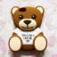 เคสหมี Teddy 3D ไอโฟน 5/5s thumbnail 1