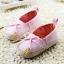 รองเท้าหัดเดินเด็กเล็กลายแต่งโบว์สีชมพู [size 11-12] thumbnail 2