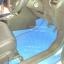 พรมรถยนต์สั่งตัด MG3 ลายกระดุมสีฟ้าขอบดำ + ท้าย + พับเบาะ thumbnail 3
