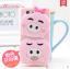 เคส OPPO Neo 5S , OPPO Joy 5 ซิลิโคน 3 มิติ เป็ดน้อย หมีน้อย หมูน้อย น่ารักๆ ราคาถูก thumbnail 10
