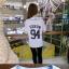 เสื้อเบสบอล เสื้อคอน EXO Planet # 3 2016 (ระบุชื่อศิลปินที่ช่องหมายเหตุ) thumbnail 2