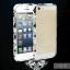bumper Iphone 5/5s โลหะขอบเพชรลาย Chanel thumbnail 10
