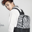 กระเป๋าเป้ม้าลาย J.estina แบบ G-Dragon thumbnail 1