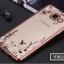 Case Samsung A5 2016 ซิลิโคน TPU โปร่งใสลายดอกไม้ขอบเงางาม ราคาถูก thumbnail 4