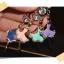 จุกกันฝุ่นมือถือ สาวน้อยนักบัลเล่ต์ประดับ rhinestone สำหรับเสียบกันฝุ่นรูหูฟังและเพื่อความสวยงามสำหรับ iphone samsung htc oppo lg sony nokia asus หรือมือถือที่มีหูฟังขนาด 3.5 มม. / 3.5mm. Anti Dust Earphone Cap Jack Plug thumbnail 3