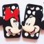 เคส iPhone 4/4s ซิลิโคน 3D มินนี่+มิกกี้เม้าส์ thumbnail 2
