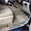 สั่งตัดพรมปูพื้นในรถยนต์เข้ารูปเต็มคัน Ford Everest 2016 ไวนิลสีครีมขอบเทา thumbnail 1