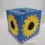 กล่องทิชชูลายดอกทานตะวันสีฟ้า (ทำสำเร็จ) thumbnail 1