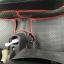 โรงงานพรมรถยนต์ Honda Brio ลายกระดุมสีดำขอบแดง thumbnail 5