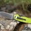 มีดพับ ONTARIO Model-1 ด้าม Fluorescent Green คมกริบ ขนาด 8 นิ้ว (OEM) thumbnail 6