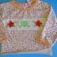 BON092 Bonita เสื้อยืดเด็กผู้หญิงแขนยาว ต่อชาย พิมพ์ลายดอกไม้ ช่วงอกปักหัวใจและดอกไม้ Size 9M/12M/18M thumbnail 1
