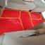 โรงงานพรมรถยนต์ Isuzu Mu-7 ไวนิลสีแดงเหลือง thumbnail 5