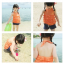 เสื้อ+กางเกง สีส้ม แพ็ค 5ชุด ไซส์ 90-100-110-120-130 thumbnail 2