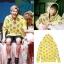 ฮู้ดสีเหลือง ลายโดนัท แบบ GOT7 thumbnail 1