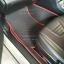 ยางปูพื้นรถยนต์เข้ารูป Subaru XV สนุ๊กสีดำขอบแดง thumbnail 3