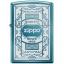 """ไฟแช็ค Zippo แท้ 6341 """"Zippo 6341, Quality Since 1932, Sapphire Blue"""" แท้นำเข้า 100% thumbnail 1"""