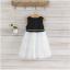 ชุดกระโปรง กระโปรงสีขาว แพ็ค 5ชุด ไซส์ 100-110-120-130-140 thumbnail 2