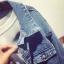 เสื้อแจ็กเก็ตยีนส์ (Jacket Jeans) BTS thumbnail 5