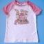 BRG011 The Children's Place เสื้อยืดแขนสั้นลายสกรีนปักเลื่อม A True Princess Size 5 / 7 ขวบ thumbnail 1