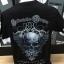 เสื้อยืดดำสกรีนลายรูปหัวกะโหลก ขนาด A3 ด้วยระบบ DTG thumbnail 1