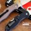 มีดพับ Spyderco รุ่น ZDP-189 ด้าม G10 สีดำสนิท คมกริบ ขนาด 8 นิ้ว (OEM) A++ thumbnail 5