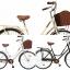 จักรยานแม่บ้าน สไตล์วินเทจ Winn DESIRE วงล้อ 26 นิ้ว พร้อมตะกร้า thumbnail 1
