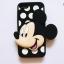 เคส iPhone 4/4s ซิลิโคน 3D มินนี่+มิกกี้เม้าส์ thumbnail 4