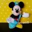 """ตุ๊กตามิกกี้เม้าส์ บุรุษไปรษณีย์ส่งจดหมาย Disney Mickey Mouse postman plush doll 11"""" thumbnail 2"""