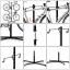 MINOURA ขาตั้งโชว์รถ 2 ชั้น มิโนระรุ่นใหม่ P-500AL-5S, PAIR STAND ALLOY thumbnail 4