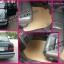 พรมกระดุมรถยนต์ Volvo 460 กระดุมสีครีมขอบครีม thumbnail 1