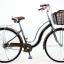 จักรยานแม่บ้าน Tiger hokkaido รุ่น ฮอกไกโด ล้อ 26 นิ้ว พร้อมตะกร้าวินเทจ (Single speed) thumbnail 5