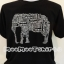 เสื้อสีดำสกรีนตัวอักษรรูปช้าง ด้วยระบบ DTG thumbnail 1