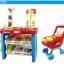 ร้าน Supermarket พร้อมรถเข็นของเด็กรุ่น 668-22 ( 46 pcs ) สูง 76 cm thumbnail 13