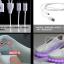 รองเท้าผ้าใบมีไฟ LED สีขาว (เปลี่ยนสีได้ 7 สี) thumbnail 15