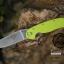 มีดพับ ONTARIO Model-1 ด้าม Fluorescent Green คมกริบ ขนาด 8 นิ้ว (OEM) thumbnail 7