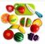 ชุดหั่นผักผลไม้สมจริง แพคกล่อง พร้อมมีดและเขียงในตัว thumbnail 4