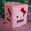 ชุดปักแผ่นเฟรมกล่องทิชชูลายคิตตี้ Kitty thumbnail 1