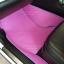 ยางปูพื้นรถยนต์เข้ารูป Subaru XV สนุ๊กสีชมพูขอบม่วง thumbnail 3