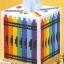 ชุดปักแผ่นเฟรมกล่องทิชชูลายสีเทียน thumbnail 1