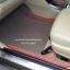 พรมไวนิลปูพื้นรถยนต์ Toyota Vios 2015 สีครีมขอบแดง thumbnail 3