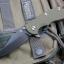 """RHK XM18 3.5"""" Bowie Battle Black Blade OD Green G-10"""