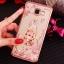 เคส Samsung A5 2016 ซิลิโคน TPU โปร่งใสขอบเงาลายดอกไม้แสนหวาน พร้อมแหวนสุดสวย ราคาถูก thumbnail 11