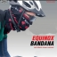 ผ้าบัฟ EQUINOX BANDANA ผ้าโพกหัว ผ้าคาดหัว เอนกประสงค์มีดำแดงและดำขาวโปรดระบุสี