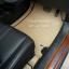 สั่งตัดพรมในรถยนต์เข้ารูป Honda BR-V 2016 ลายกระดุมสีครีมขอบน้ำตาล thumbnail 4